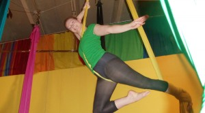 "Aerial silks is my time to fly. I love feeling light and beautiful.""  Bobbi F."