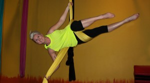 """Aerial silks makes me feel like a badass.  I feel strong which translates into confidence in all areas of my life.""  Jamie R."