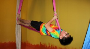 """Aerial fitness isn't just for girls.""  Kai A."